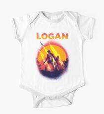 LOGAN Short Sleeve Baby One-Piece