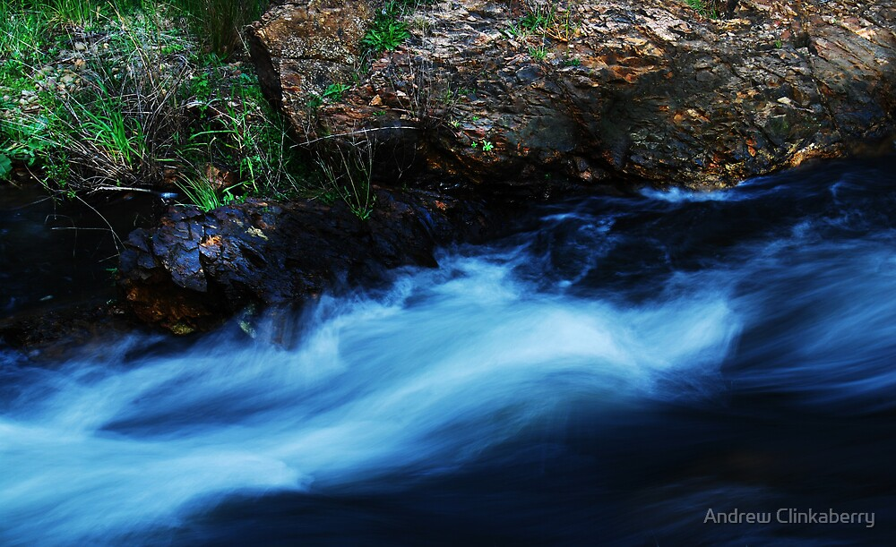 The Ovens River  by Andrew Clinkaberry