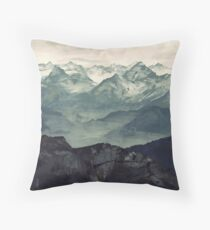 Mountain Fog Floor Pillow