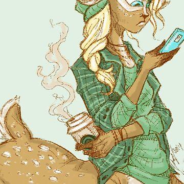 Basic Centaur Girl by Poofette