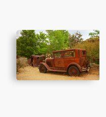 Route 66 Vintage Auto Canvas Print