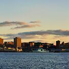 Halifax from Dartmouth by Paul Clarke