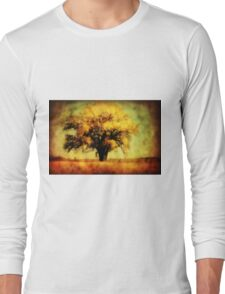 Nebraska Cotten Wood 2 Long Sleeve T-Shirt