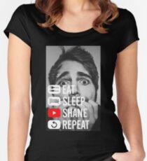 shane dawson Women's Fitted Scoop T-Shirt