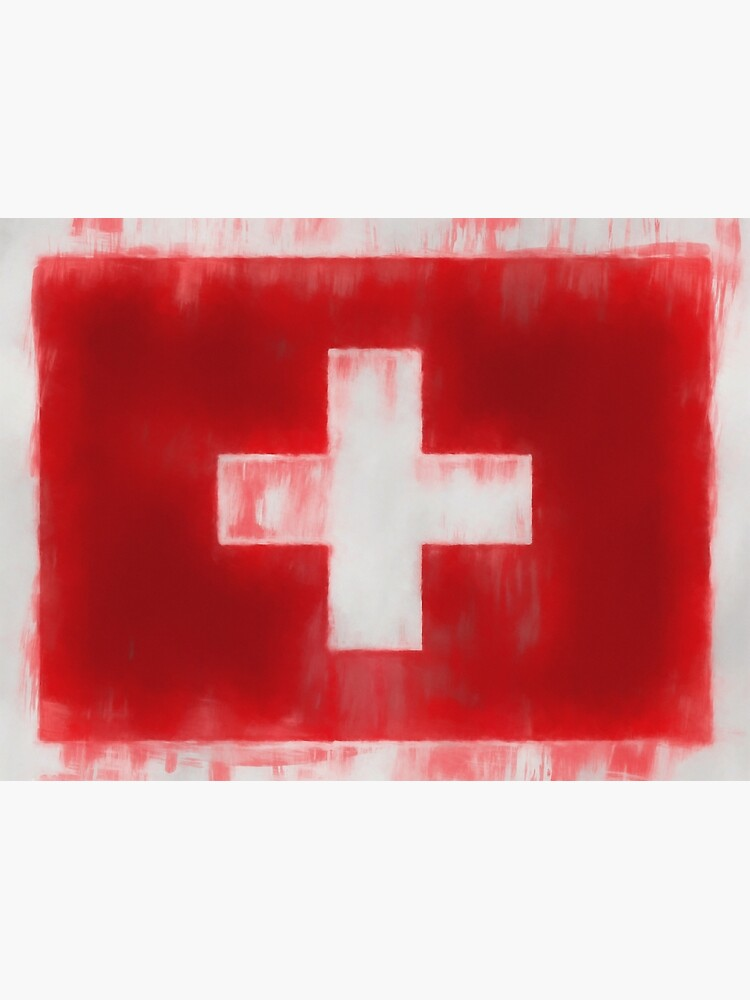 Swiss Flag No. 66, Series 1 by 8th-and-f