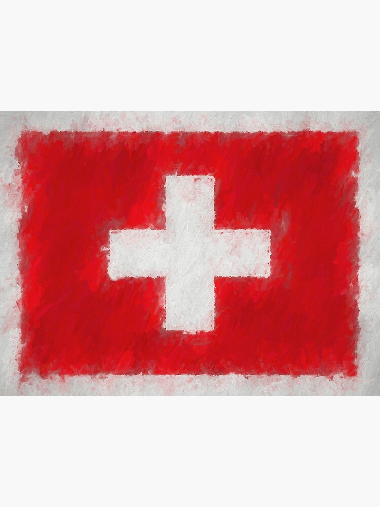 Swiss Flag No. 66, Series 4 by 8th-and-f