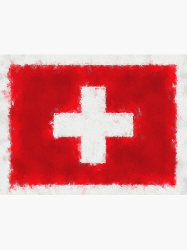 Swiss Flag No. 66, Series 5 by 8th-and-f