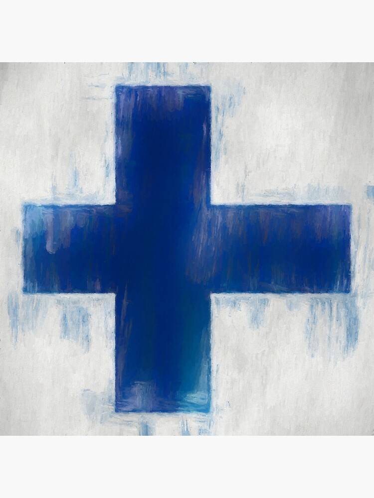 Finnish Flag No. 2, Series 2 by 8th-and-f