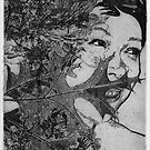 Wood Nymph Etching by Lydia-Ham