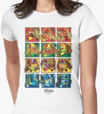 VIZAĜO Jacks, Queens & Kings Women's Fitted T-Shirt