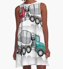 Cement mixer A-Line Dress