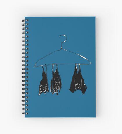 fruitbats in the closet Spiral Notebook