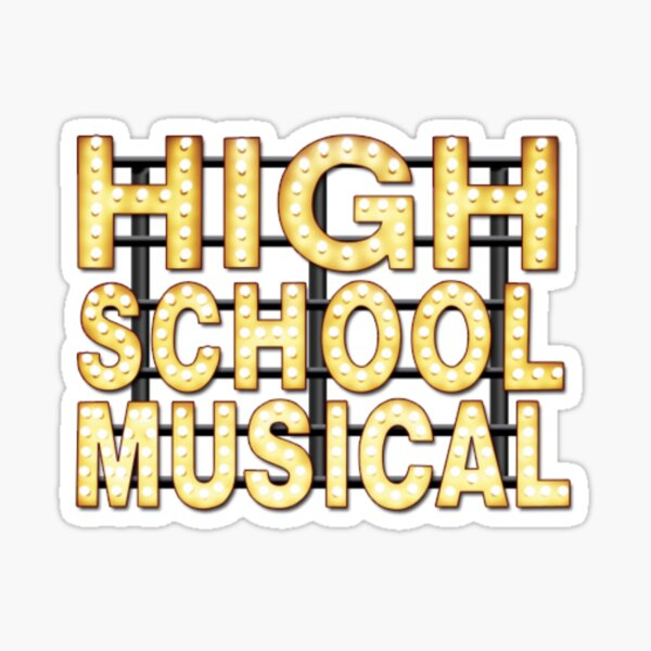 High School Musical Sticker