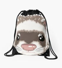 Ferret Drawstring Bag