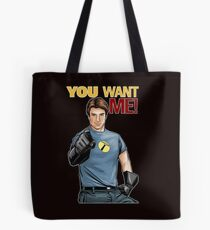 Captain Hammer - You Want Me Tote Bag