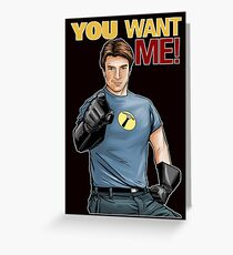 Captain Hammer - You Want Me Greeting Card