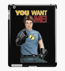 Captain Hammer - You Want Me iPad Case/Skin