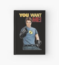 Captain Hammer - You Want Me Hardcover Journal