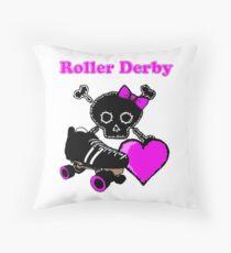 Roller Derby Heart (Pink) Floor Pillow