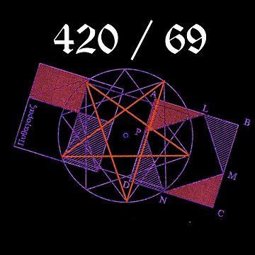 Pentagram 420 / 69 by CoolDad420