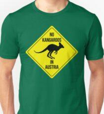 No Kangaroos in AUSTRIA Unisex T-Shirt