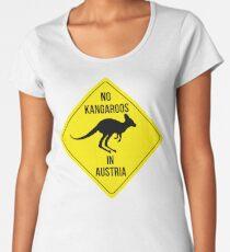 No Kangaroos in AUSTRIA Women's Premium T-Shirt