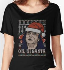 Oh Hi Santa Women's Relaxed Fit T-Shirt