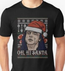 Camiseta ajustada Oh, hola Santa