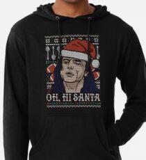 Oh Hi Santa Lightweight Hoodie