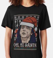 Oh Hi Santa Slim Fit T-Shirt