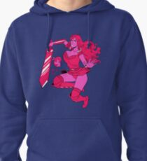 Lusty Attack - Multicolour Pullover Hoodie