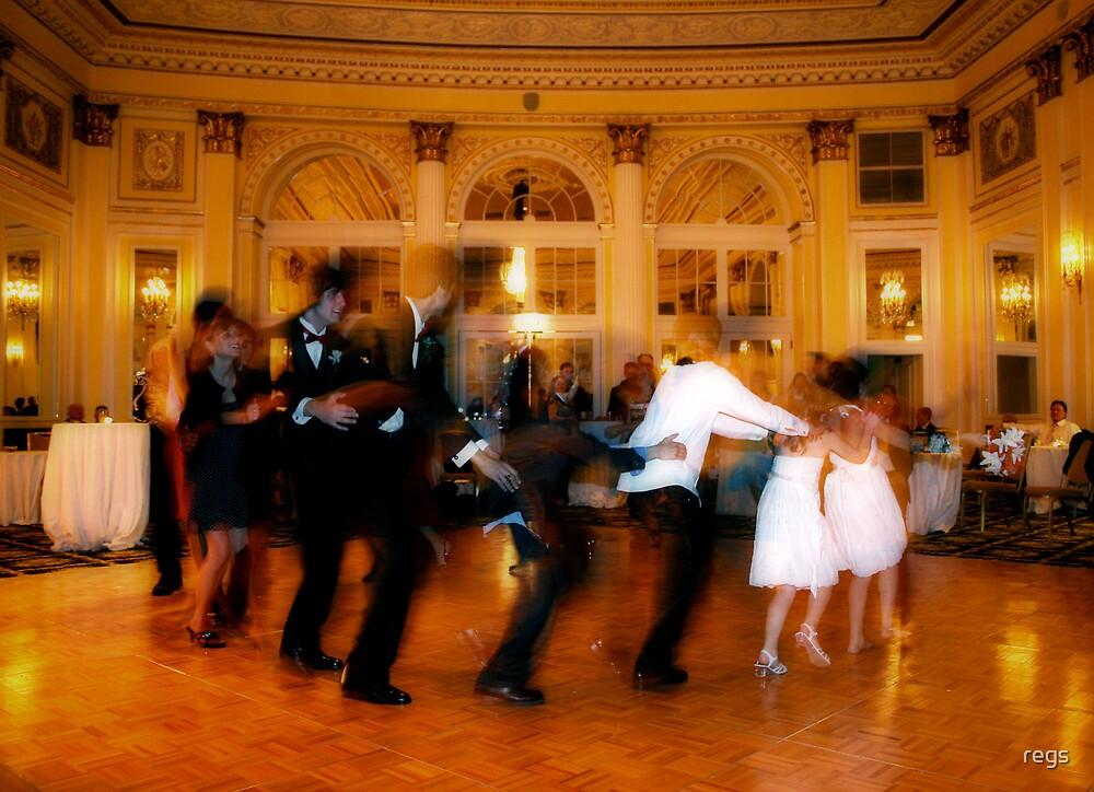 wedding train by regs
