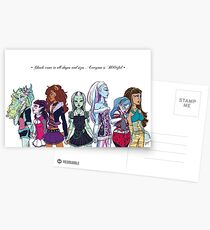 Monster High - Bootiful Ghouls Postcards