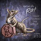Year of the Rat Calendar by Stephanie Smith