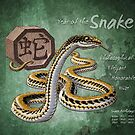 Year of the Snake Calendar by Stephanie Smith