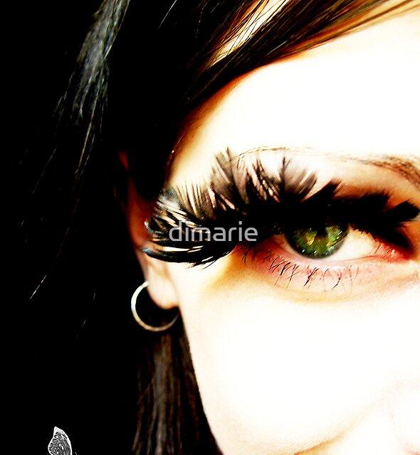 green eye by dimarie