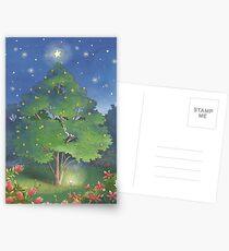 Christmas Garden Postcards