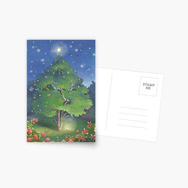Christmas Garden Postcard