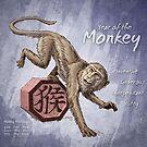 Year of the Monkey Calendar by Stephanie Smith