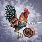 Year of the Rooster Calendar by Stephanie Smith