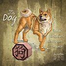 Year of the Dog Calendar by Stephanie Smith