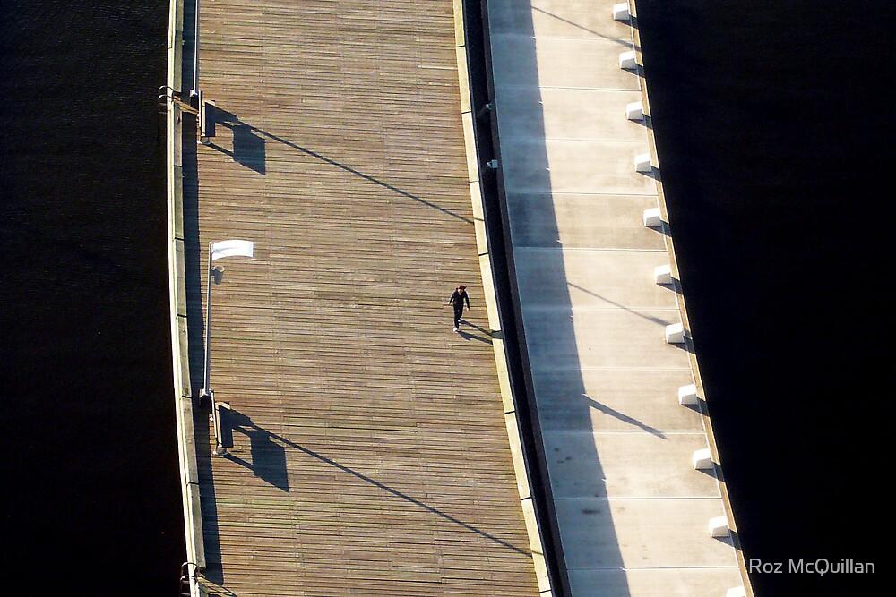 Walker, Docklands, Melbourne by Roz McQuillan