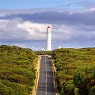 Road to the Cape Nelson Lighthouse, Victoria by Christine Smith