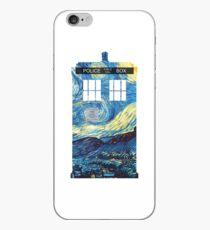 Van Gogh's TARDIS iPhone Case