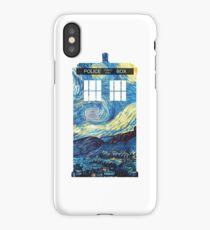 Van Gogh's TARDIS iPhone Case/Skin