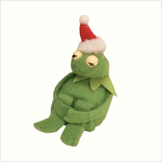 "Muppet Christmas Meme: ""CHRISTMAS KERMIT MEME!"" Art Prints By Introvertd"