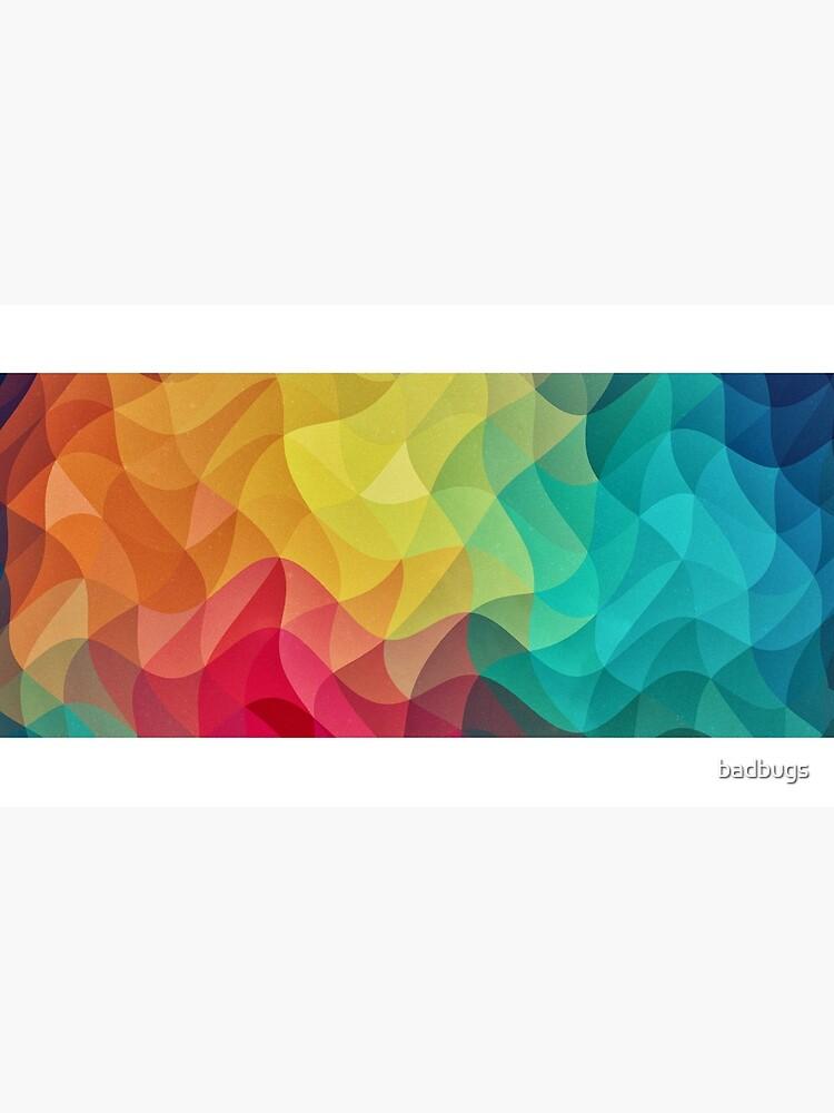 Abstract Color Wave Flash von badbugs