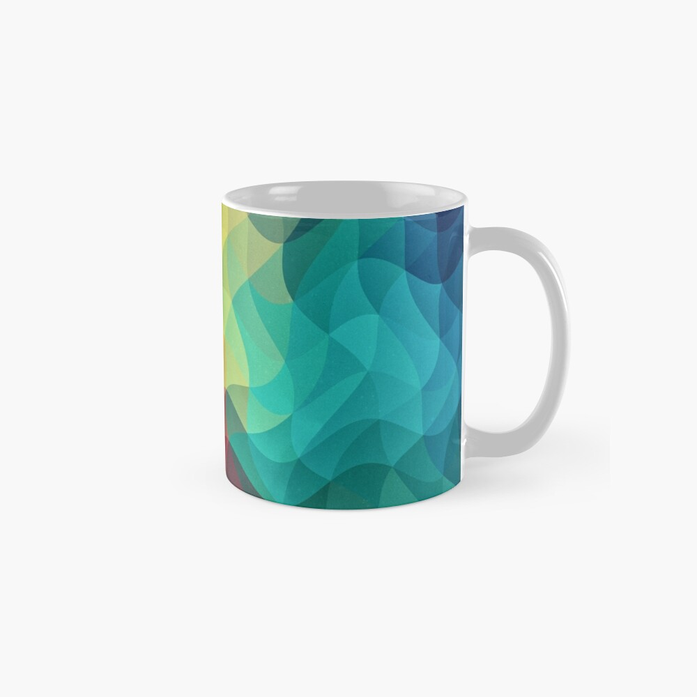 Abstract Color Wave Flash Tasse