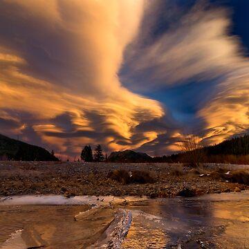 Crazy Sunset  by valentina9