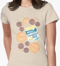 Make Rum Balls Women's Fitted T-Shirt